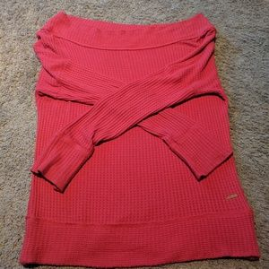 Lucky brand off the shoulder thermal